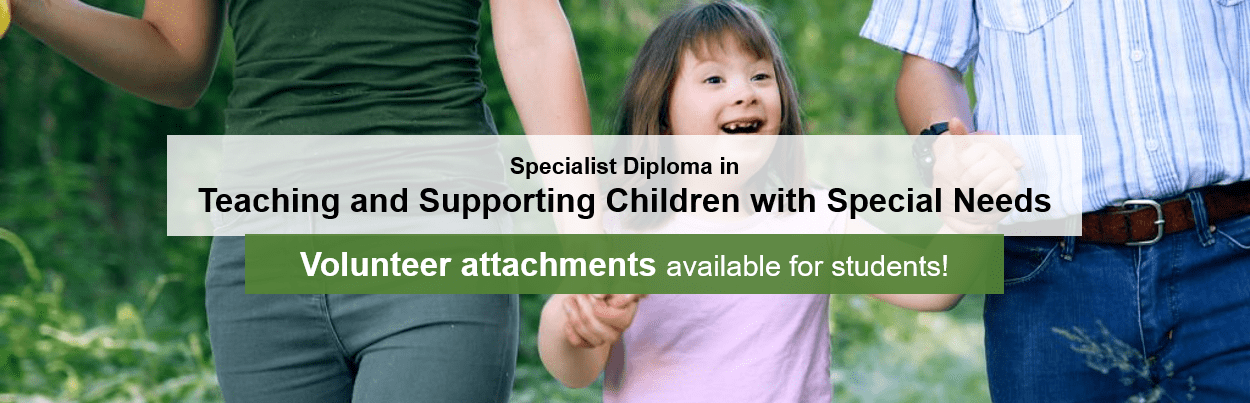 ACCIHS Specialist Diploma In Teaching And Supporting Children With Special Needs Banner
