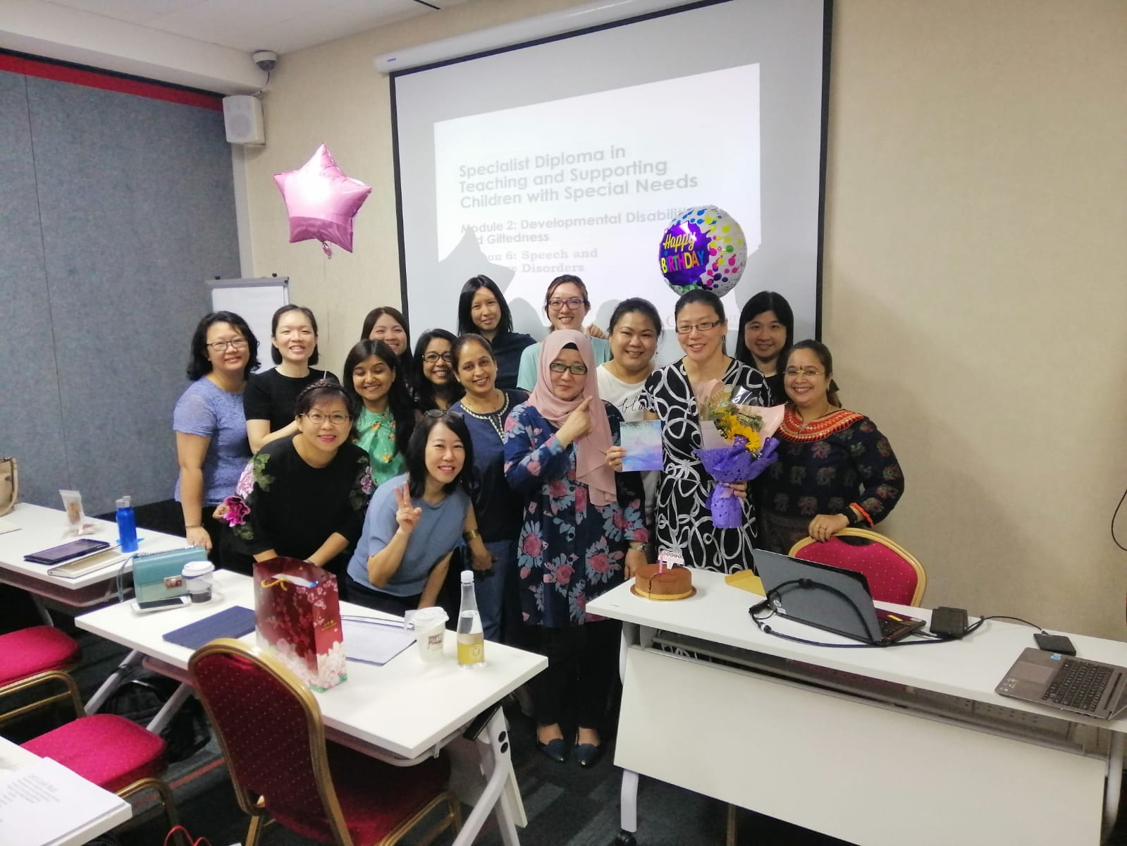 Specialist Diploma in Teaching Supporting Children with Special Needs Class Photo